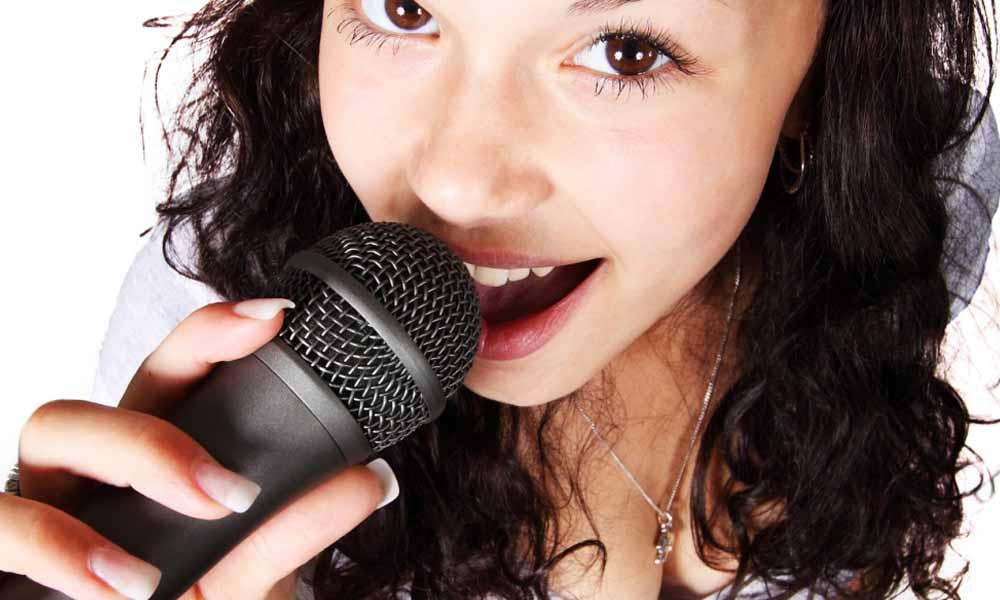 microphone de karaoké